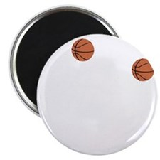 March Madness Basketball Funny T-Shirt Magnet