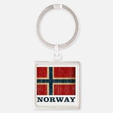 norway9 Square Keychain