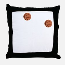 March Madness Basketball Funny T-Shir Throw Pillow