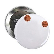 """March Madness Basketball Funny T-Shir 2.25"""" Button"""