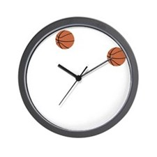 March Madness Basketball Funny T-Shirt Wall Clock
