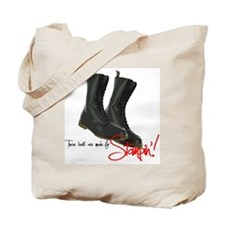 these boots are made for Tote Bag