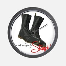 these boots are made for Wall Clock