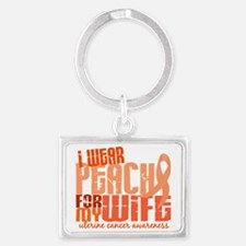 D Wife Landscape Keychain