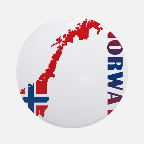 norway11 Round Ornament
