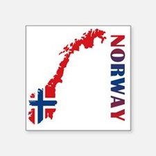 "norway11 Square Sticker 3"" x 3"""