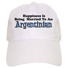 Happiness Married To Argentinian Baseball Cap