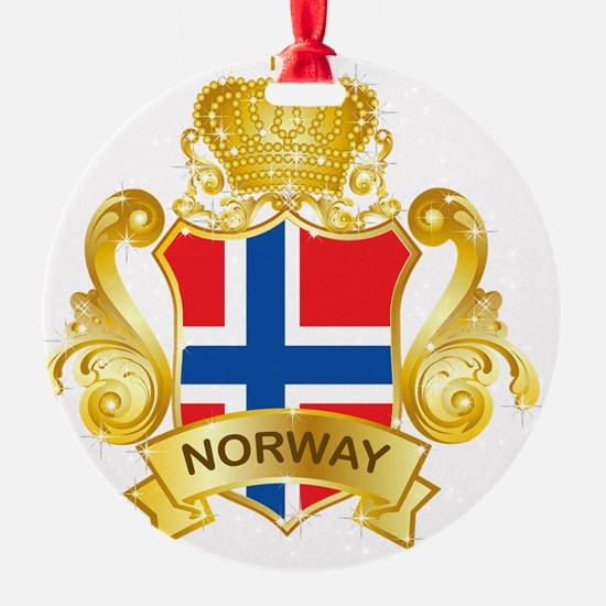 Gold1Norway1 Ornament