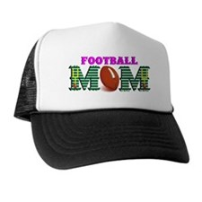 Pink Football MOM Trucker Hat
