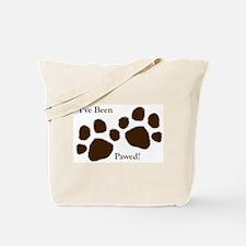 I've Been Pawed! Tote Bag