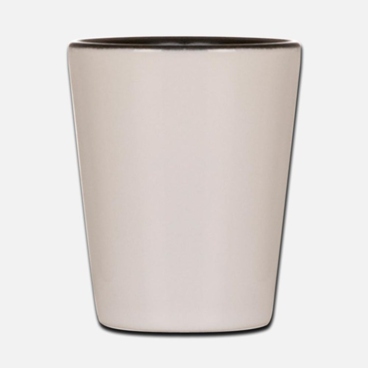 Kagawa-ken (flat) pocket white Shot Glass