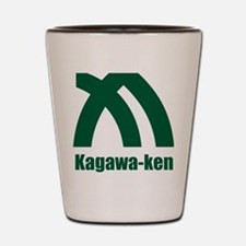Kagawa-ken (flat) pocket Shot Glass