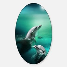 dolphins-cyan Decal