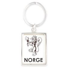Norge1 Portrait Keychain
