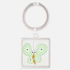 easter1 Square Keychain