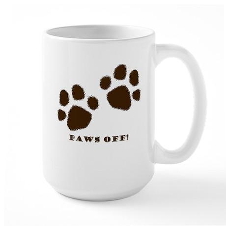 Paws Off! Large Mug