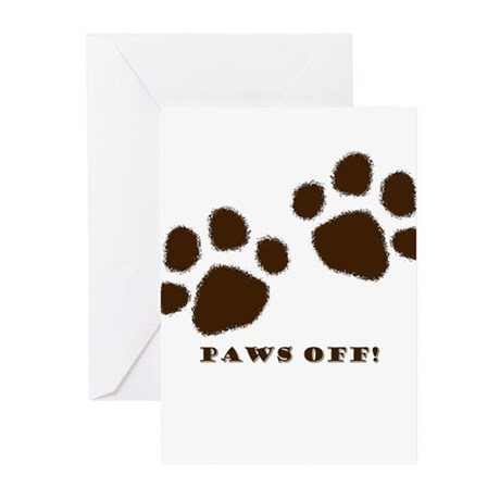 Paws Off! Greeting Cards (Pk of 10)
