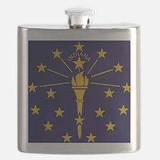 Indianatex3tex3-paint Flask
