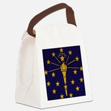 Indianatex3tex3-paint Canvas Lunch Bag