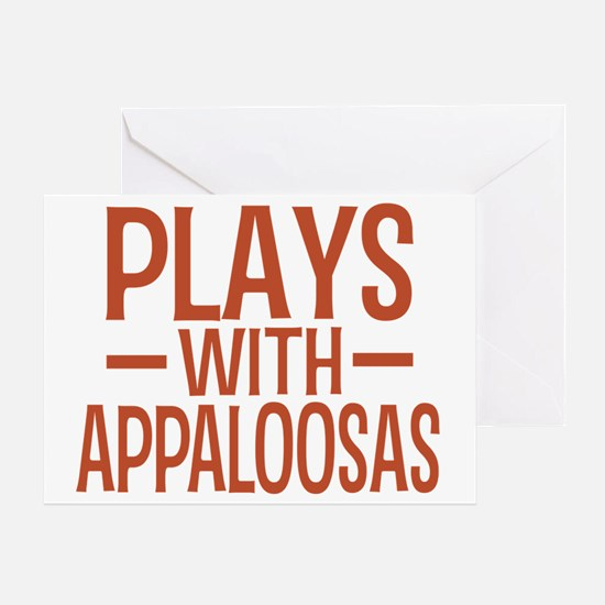 playsappaloosas Greeting Card