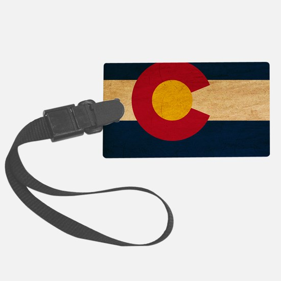 Coloradotex3tex3-paint Luggage Tag
