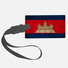 Cambodiatex3tex3-paint Luggage Tag