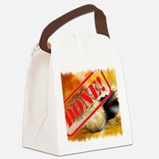 Done the empty tomb Canvas Lunch Bag