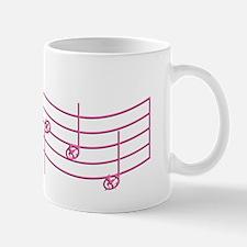 Rues Whistle Pink Emboss Mug