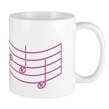 Rues Whistle Pink Emboss Small Mugs