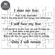 Litany Against Fear (white-Grantham) Puzzle