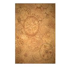 Spell_Symbols_terra_BOS Postcards (Package of 8)