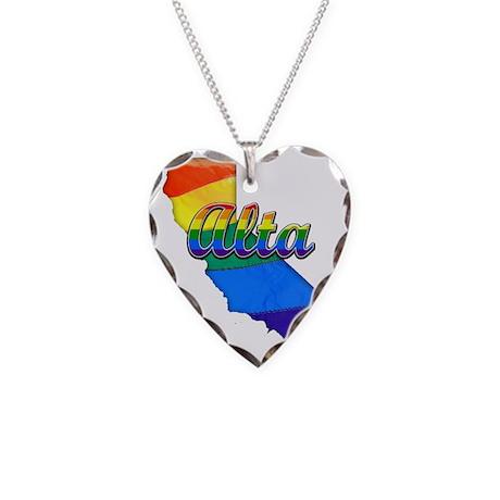 Alta Necklace Heart Charm