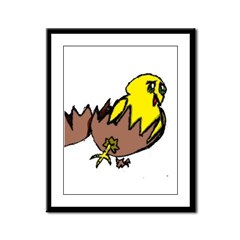 Chick Framed Panel Print
