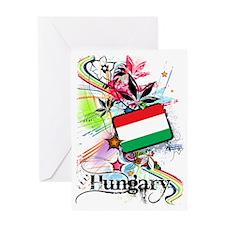 flowerHungary1 Greeting Card
