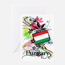 flowerHungary1 Greeting Card