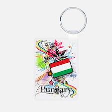 flowerHungary1 Keychains
