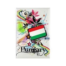 flowerHungary1 Rectangle Magnet
