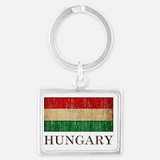 hungary8 Landscape Keychain
