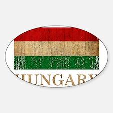 hungary8Bk Sticker (Oval)