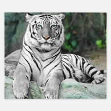 White Tiger King Duvet