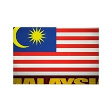 Malay (Laptop Skin) Rectangle Magnet