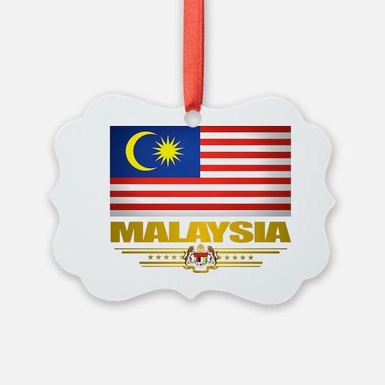 Malaysia (Flag 10) 2 Ornament