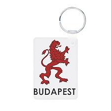 budapest3 Aluminum Photo Keychain