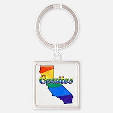 Cerritos Square Keychain