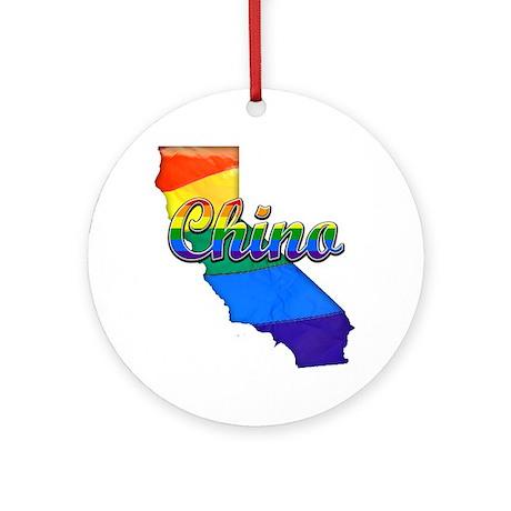 Chino Round Ornament