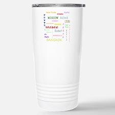 Famous Cities Travel Mug
