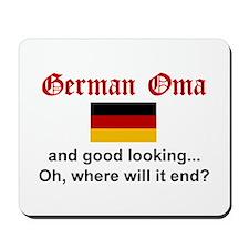 Good Looking German Oma Mousepad