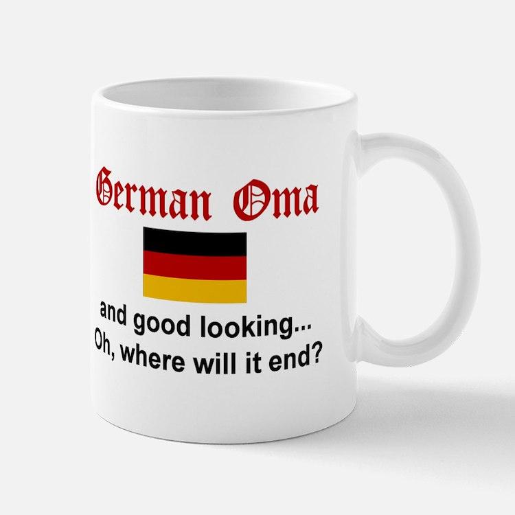 Good Looking German Oma Mug