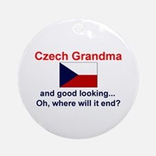 Czech Grandma-Good Lkg Keepsake Ornament