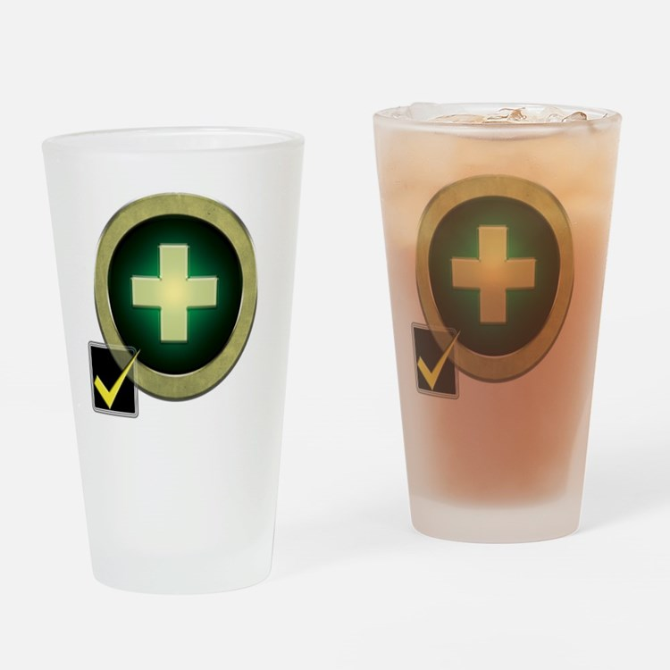 Healer2 Drinking Glass